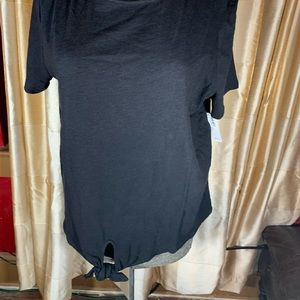 Old Navy Short Sleeve Top With Tie Detail